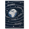 Weihnachtsklappkarte, mit Laserschnitt, Designkarton in dunkelblau, Folienprägung silber, inkl. Einlegeblatt mit Folienprägung
