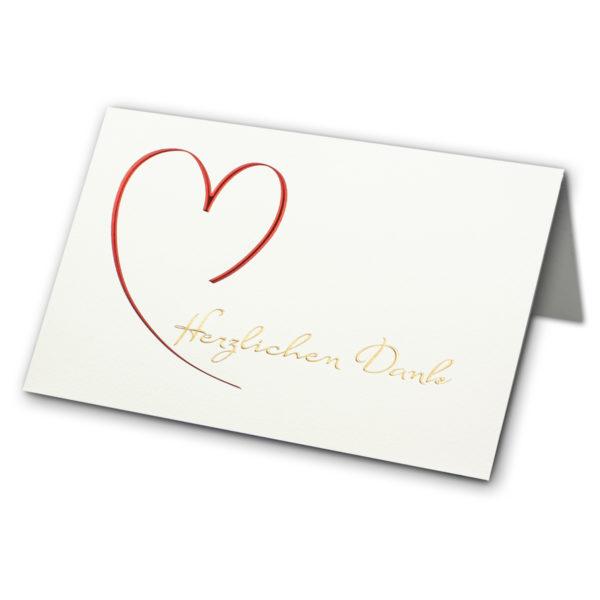 Danksagungskarte, Herzlichen Glückwunsch