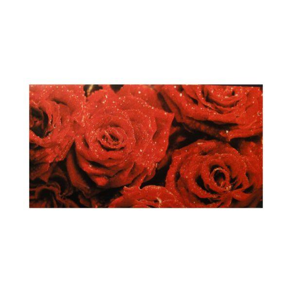"Glückwunschkarte ""Rote Rosen"""