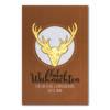 Weihnachtskarte, weißer Karton im Ökodesign, Folienprägung gold und silber